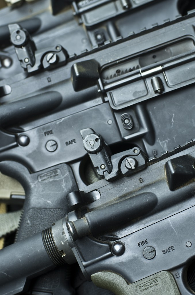 AR-15 receivers used to determine if brass or steel is better.